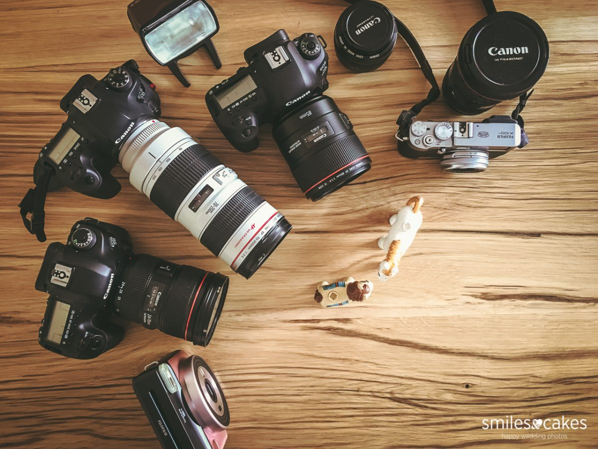 attrezzatura fotografica matrimonio