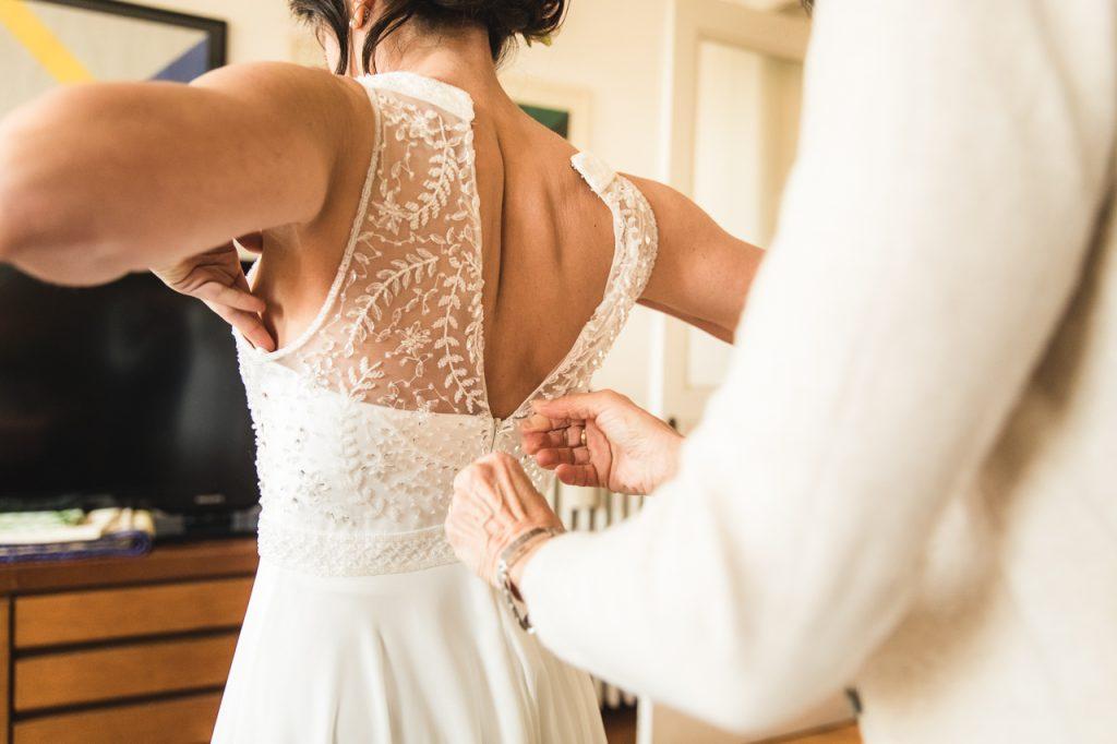 foto preparativi sposa trieste