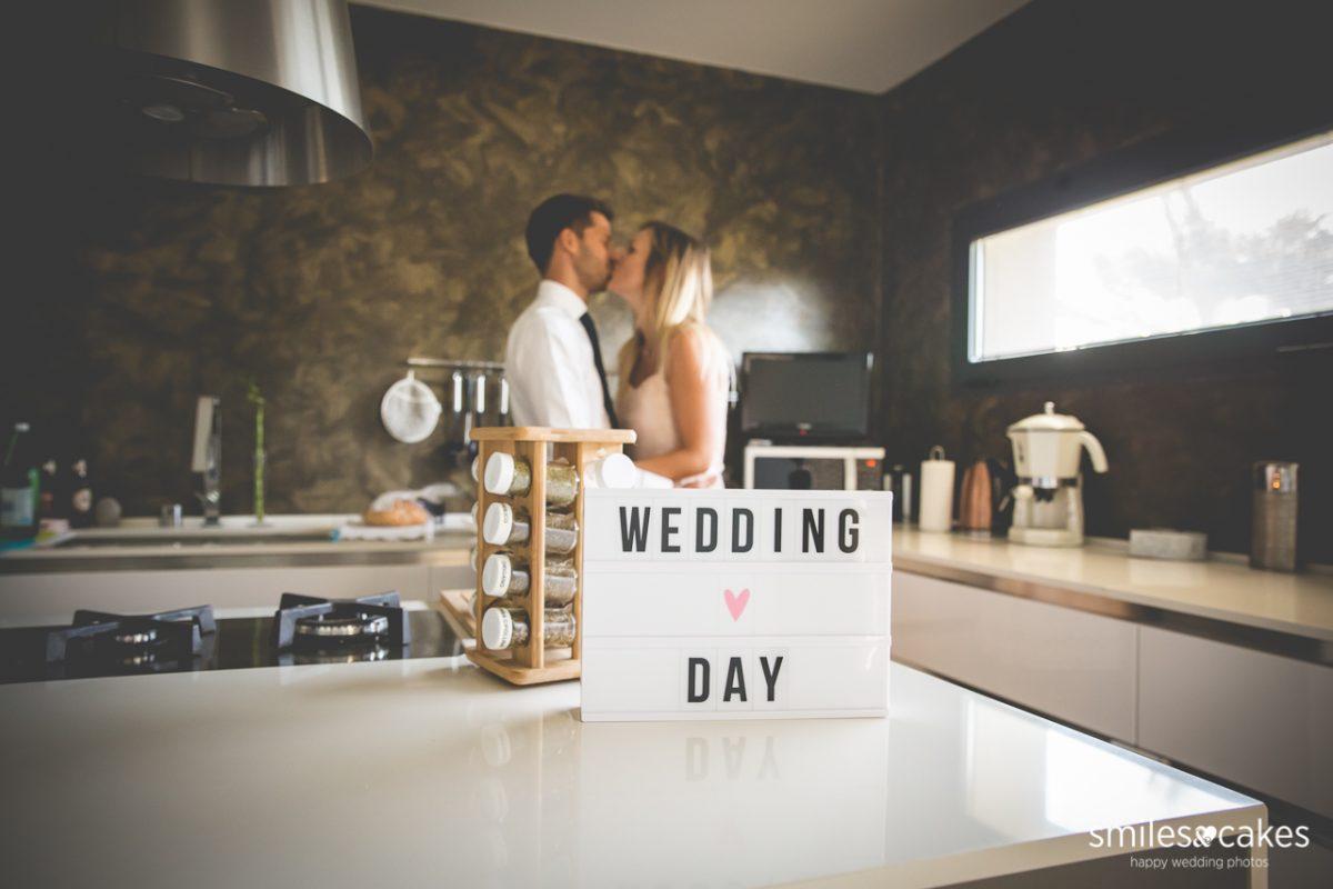 Fotografo di matrimonio - preparativi sposi